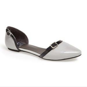 Jeffrey Campbell smitty  leather D'Orsay flat